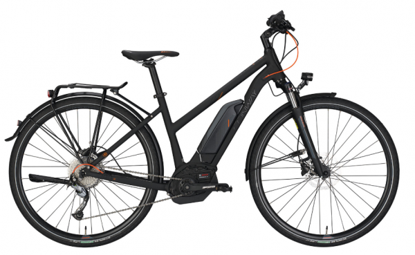 "Conway E-Bike eCC 200 SE 28"" Trapez 9G Shimano Acera black matt/orange"