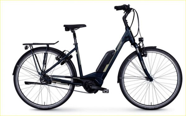 Kreidler Vitality Eco 6 Edition eBike / Pedelec E-Citybike mit Bosch Active Line Plus Akku 500 Wh und Gates Riemenantrieb