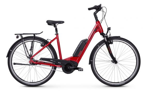 Kreidler Vitality Eco 3 E-Bike Nexus 7 Gang 400 Wh rot