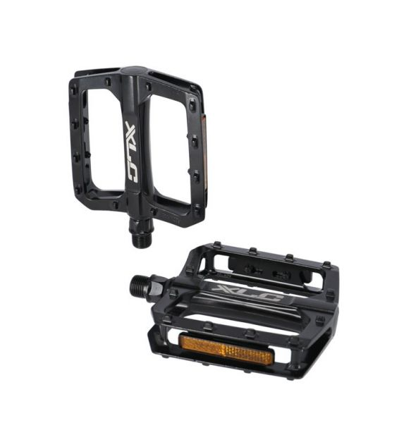 XLC Plattform-Pedal PD-M29 schwarz mit Reflektor