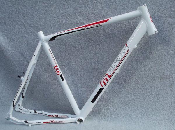 Müsing Twinroad Light Fahrrad Trekkingrad Crossrad Rahmen weiß