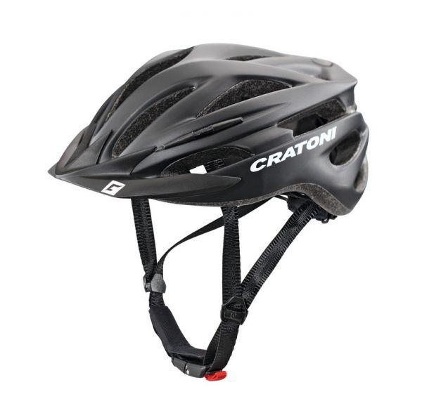 CRATONI Pacer Fahrradhelm | E-Bike Helm schwarz matt
