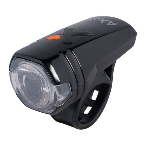 AXA Fahrrad LED-Akkuscheinwerfer Green Line 30 - 30 Lux