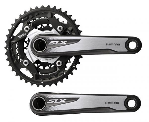 Shimano SLX FC-M672 Mountainbike Kurbel 40/30/22 175mm Hollowtech II 3x10