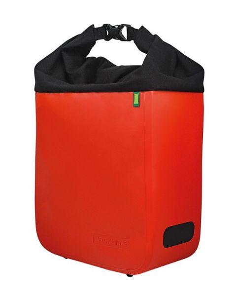 Racktime Seitentasche Donna lavaorange/onyxschwarz