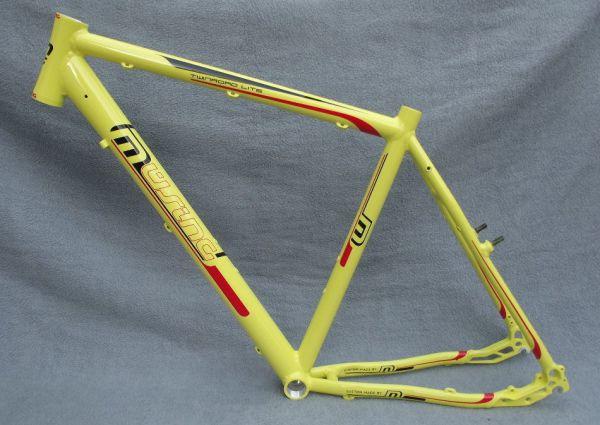 Müsing Twinroad Light Fahrrad Trekkingrad Crossrad Rahmen gelb