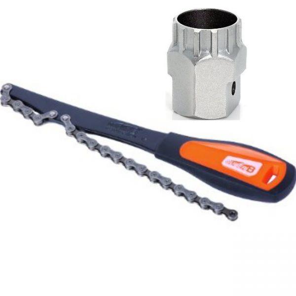 Super B Werkzeugset für Kassetten + Zahnkranz