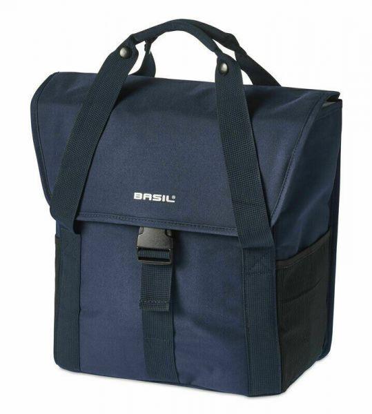 BASIL Go Single Bag Fahrrad E-Bike Einzel Packtasche Gepäckträgertasche blau 18 Liter