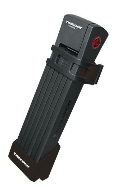 TRELOCK Faltschloss FS 300 Trigo 85 cm schwarz