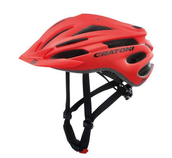 CRATONI Pacer Fahrradhelm | E-Bike Helm rot matt