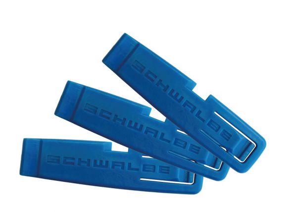 Schwalbe Reifenheber Set blau Montagewerkzeug Fahrradreifen