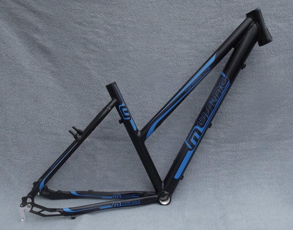 Müsing Twinroad Light Damen Rahmen 28 Zoll schwarz/blau hochwertiger ...