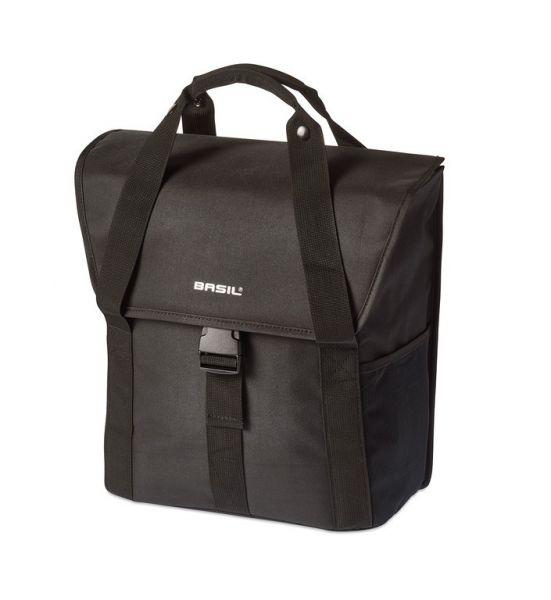 Basil Go Single Shoppertasche Gepäckträgertasche schwarz oder grau