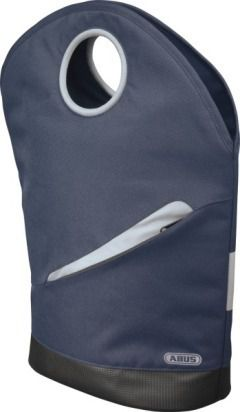 ABUS Lyria Daily ST 4700 KF Fahrrad Gepäckträgertasche blau