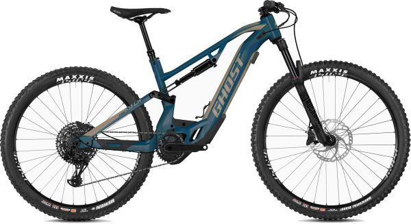 Ghost Hybride ASX 2.7+ AL U riot red / jet black E-Bike Fully Mountainbike Bosch CX 625Wh