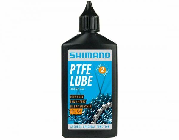 Shimano PTFE Dry Lube Fahrrad Öl für Kette + Schaltung 100ml