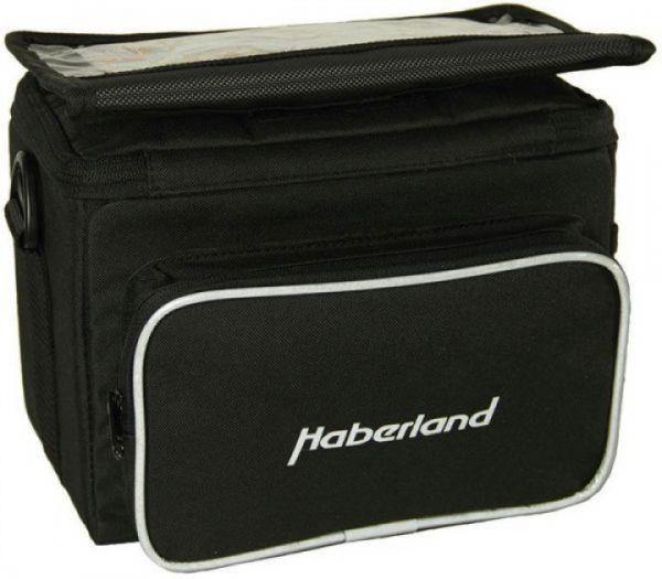 Haberland Fahrrad Lenkertasche Classic für KLICKfix-Adapter