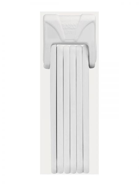Abus Bordo Lite 6050 inkl. Tasche, white - Fahrradschloss