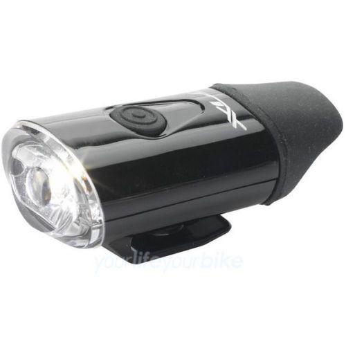 XLC Fahrrad Helmlampe CL-F20 USB schwarz