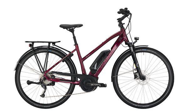 Victoria eTrekking 6.3 E-Bike Damen- Dunkelrot