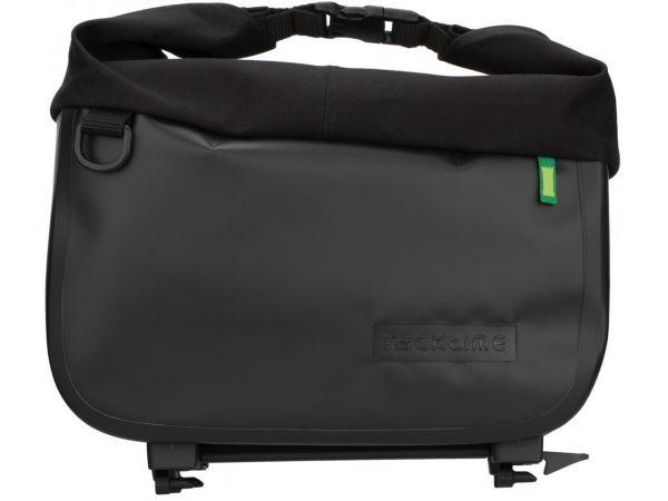 Racktime System Tasche Yves onyxschwarz, inkl. Snapit Adapter
