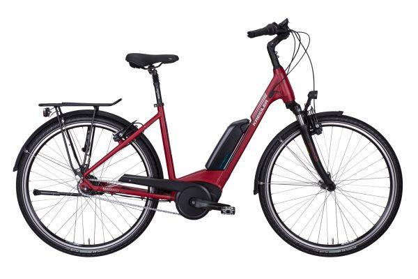 Kreidler Vitality Eco 6 E-Bike Nexus 8 Gang 500 Wh rotmatt