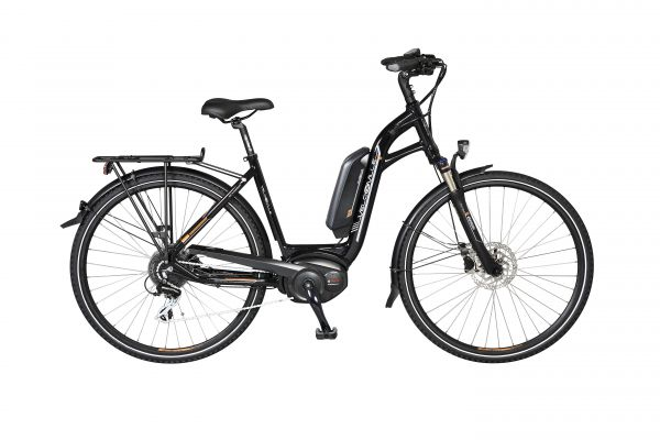 Velo de Ville AEB 70 E-Bike Pedelec Trekkingrad 28'' 400 Wh schwarz