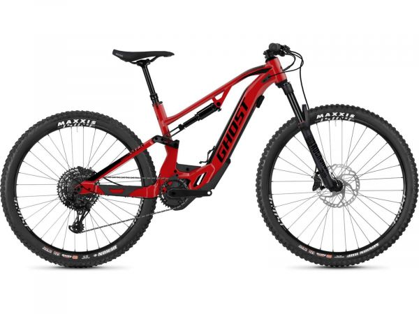 Ghost Hybride ASX 2.7+ AL U riot red / jet black E-Bike Fully Mountainbike