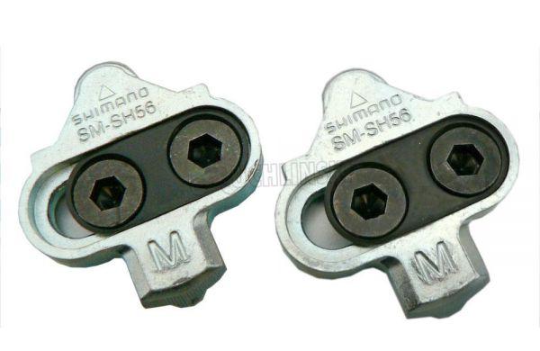 Shimano Schuhplatten SM-SH56 Cleats ohne Gegenplatte